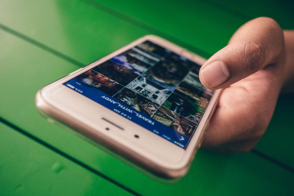 User activity on Instagram in 2017
