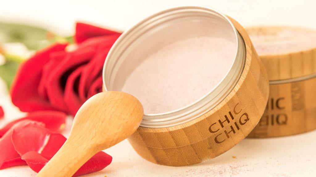 Ayurveda rose face mask from Chic Chiq